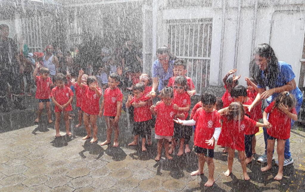 Actividad Instituto Niños Ciegos y Sordos
